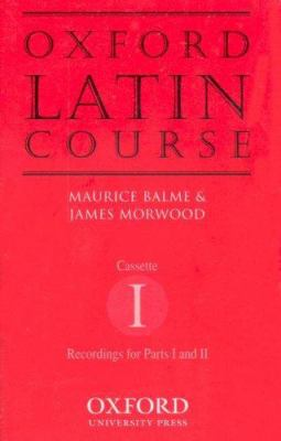 Oxford Latin Course: Cassette I: Recordings for Part I and II 9780198405610
