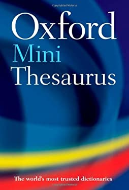 Oxford Mini Thesaurus 9780199213641