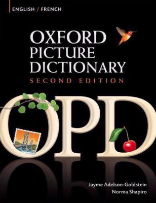 Oxford Picture Dictionary: English/French 9780194740135