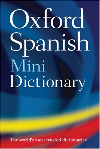 Oxford Spanish Mini Dictionary: Spanish-English/English-Spanish 9780199541263