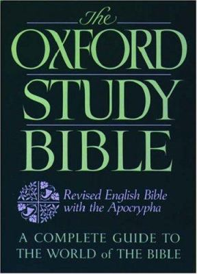 Oxford Study Bible-Reb 9780195290011
