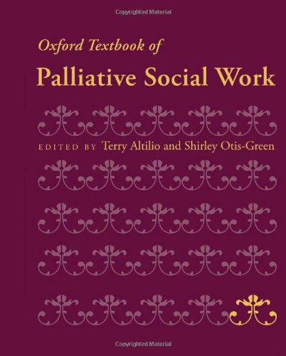 Oxford Textbook of Palliative Social Work 9780199739110