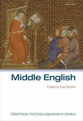 Oxford Twenty-First Century Approaches to Literature: Middle English 584458