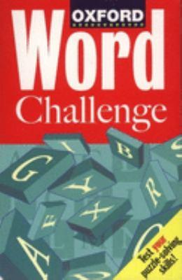 Oxford Word Challenge 9780198601135