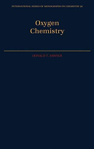 Oxygen Chemistry 9780195057980