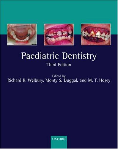 Paediatric Dentistry 9780198565833