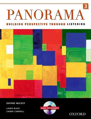Panorama Listening 3 Student Book: Building Perspective Through Listening 9780194757140
