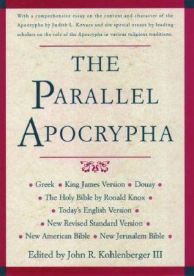 Parallel Apocrypha-PR-KJV/NRSV/Nab/Njb/TeV/Rheims 9780195284447