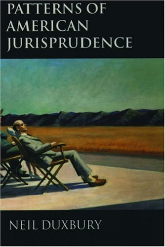 Patterns of American Jurisprudence 9780198258506