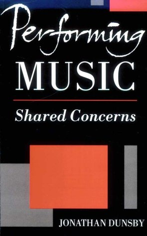 Performing Music: Shared Concerns 9780198166429