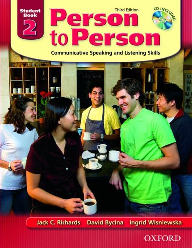 Person to Person 2, Student Book: Communicative Speaking and Listening Skills [With CDROM] 9780194302159