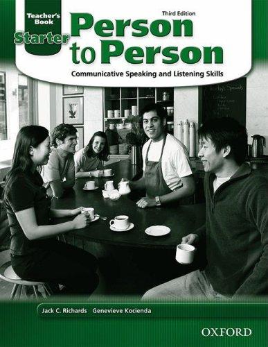 Person to Person Starter Teacher's Book 9780194302180