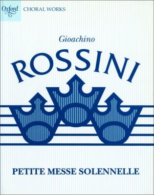 Petite Messe Solennelle: Performing Score 9780193380455