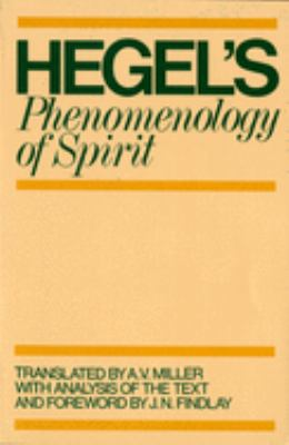 Phenomenology of Spirit 9780198245971