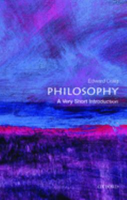 Philosophy: A Very Short Introduction 9780192854216