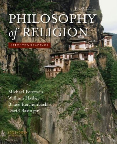 Philosophy of Religion: Selected Readings 9780195393590