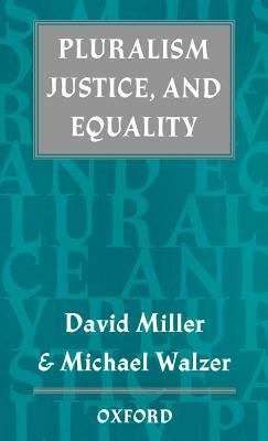 Pluralism, Justice, and Equality 9780198279372