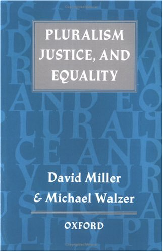 Pluralism, Justice, and Equality 9780198280088
