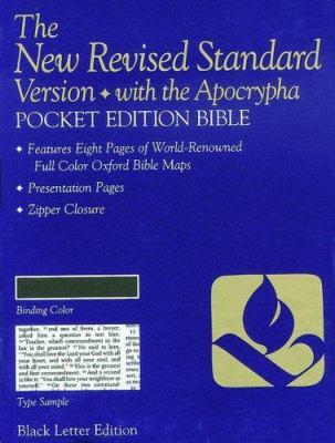 Pocket Bible-NRSV-Anglicized 9780195282023
