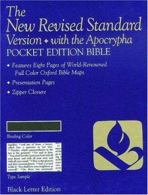 Pocket Bible-NRSV-Anglicized 9780195282115