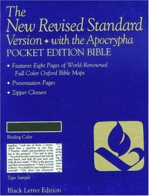 Pocket Bible-NRSV-Anglicized 9780195282146