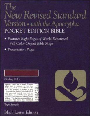 Pocket Bible-NRSV 9780195282030