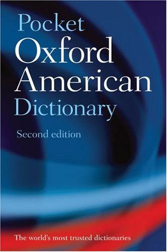 Pocket Oxford American Dictionary 9780195301632