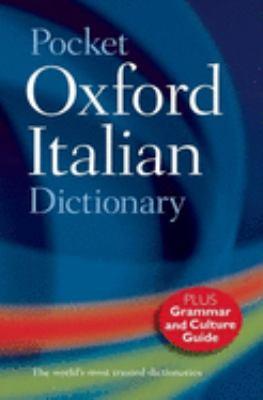 Pocket Oxford Italian Dictionary 9780198614364