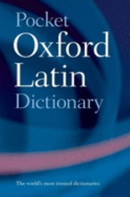 Pocket Oxford Latin Dictionary 9780198610052