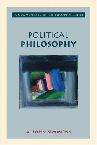 Political Philosophy 9780195138023