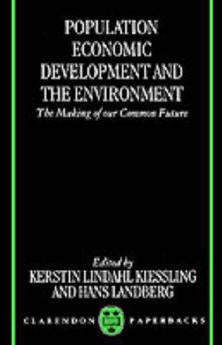 Population, Economic Development, and the Environment 9780198292425