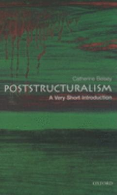 Poststructuralism: A Very Short Introduction 9780192801807