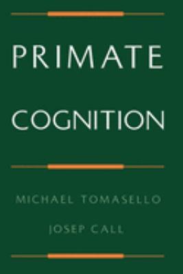 Primate Cognition 9780195106244