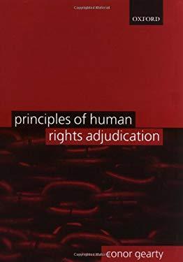 Principles of Human Rights Adjudication