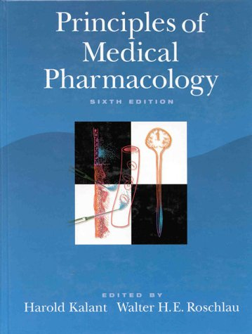 Principles of Medical Pharmacology 9780195100242