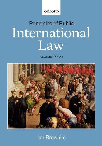 Principles of Public International Law 9780199217700