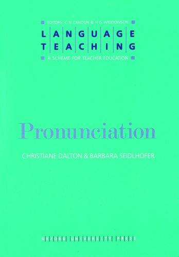 Pronunciation by Christiane Dalton, Barbara Seidlhofer