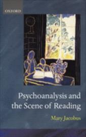 Psychoanalysis and the Scene of Reading 561509