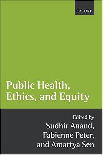 Public Health, Ethics, and Equity 9780199276363