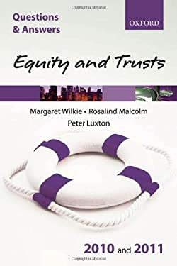 Equity & Trusts 9780199579112