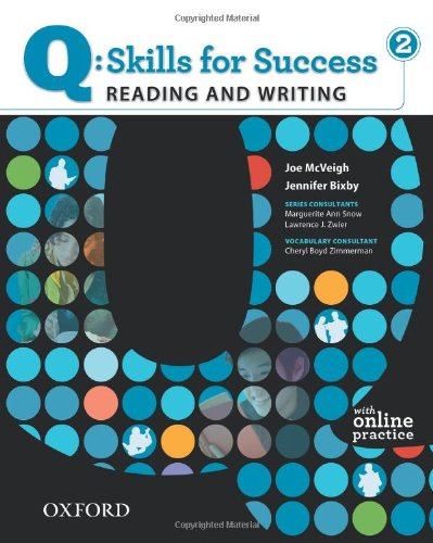 Q: Skills for Success 2 Reading & Writing Student Book with Student Access Code Card 9780194756235