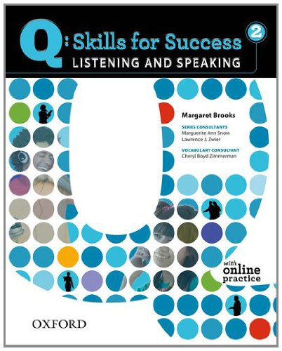 Q: Skills for Success 2 Listening & Speaking Student Book with Student Access Code Card 9780194756112