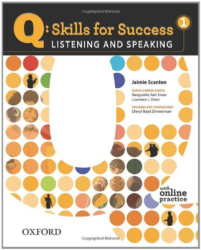 Q: Skills for Success 1 Listening & Speaking Student Book with Student Access Code Card 9780194756105