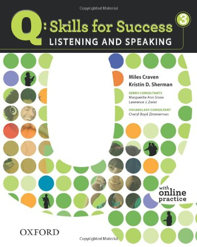 Q: Skills for Success 3: Listening and Speaking [With Access Code] 9780194756129