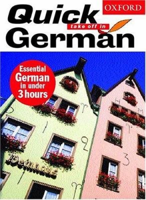 Quick Take Off in German [With Book]