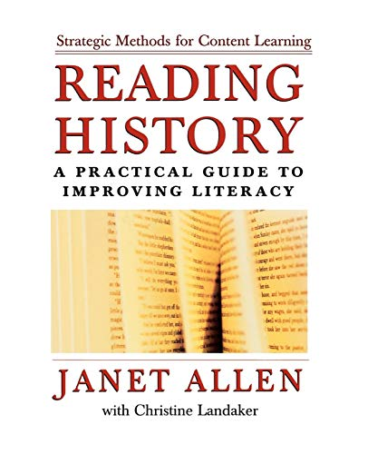 Reading History: A Practical Guide to Improving Literacy 9780195165968