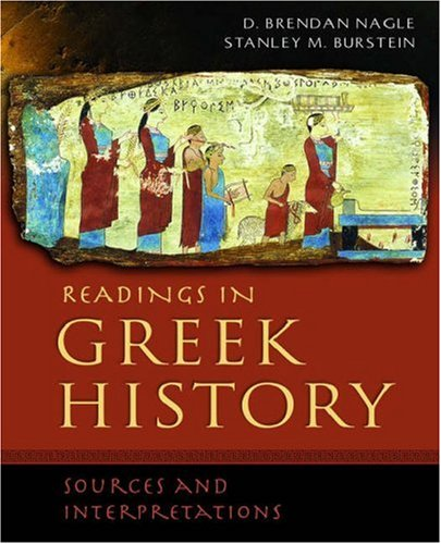 Readings in Greek History: Sources and Interpretations 9780195178258