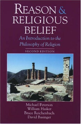 Reason and Religious Belief: An Introduction to the Philosophy of Religion 9780195113471
