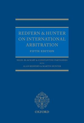 Redfern and Hunter on International Arbitration 9780199557189
