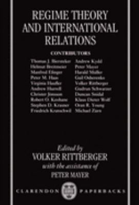 Regime Theory and International Relations 9780198280293